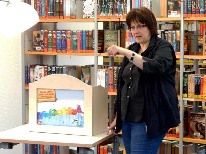 Kamishibai in der Bücherei - HohenlimBuch